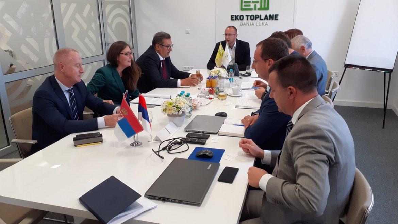 Представници EBRD-а у посјети Еко топланама